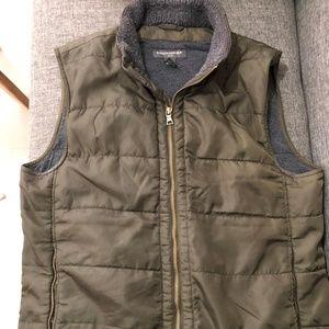 Banana Republic Full zip lined Mens vest jacket L